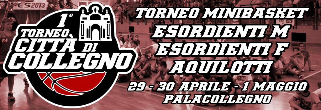 Torneo minibasket 29-30 aprile, 1 maggio